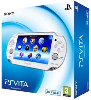 Sony PS Vita (1008) Wi-Fi/3G White
