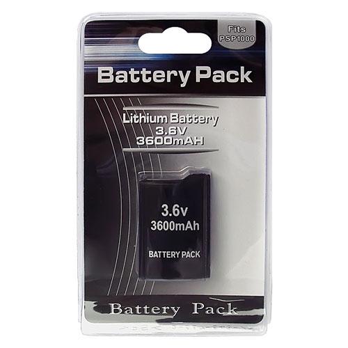 PSP 1000 Battery Pack 3600 mAh