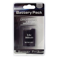 PSP 1000 Battery Pack 3600 mAh