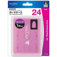 PS Vita Футляр для картриджей и memory card 24шт. Pink