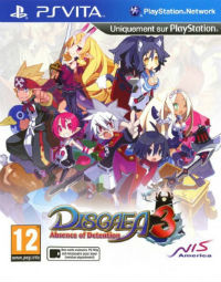 Disgaea 3 Absence of Detention (PS Vita)