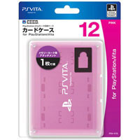 PS Vita Футляр для картриджей и memory card 12шт. Pink