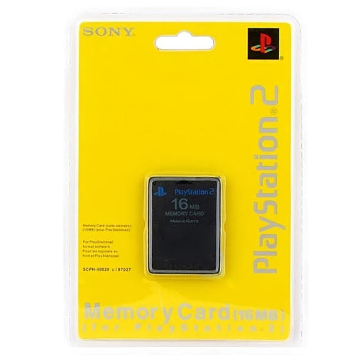 PS 2 Memory Card 16MB блистер