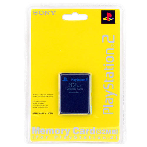 PS 2 Memory Card 32MB блистер