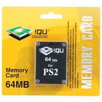 PS 2 Memory Card 64MB картон (iQu)