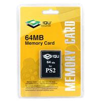 PS 2 Memory Card 64MB блистер (iQu)