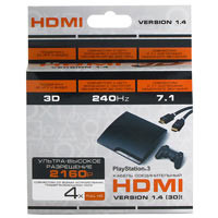 PS 3 Cable HDMI 4.0m ver 1.4 (картон)