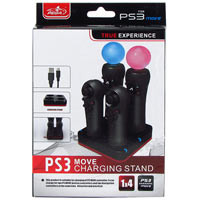 PS Move Motion Controller Charger 4in1