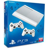 PlayStation 3 (500G) Super Slim+Controller White